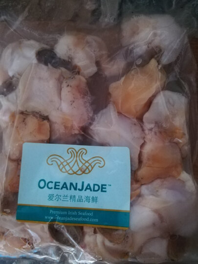 OCEAN JADE 原装进口冷冻爱尔兰北蛾螺肉 500g 10-25粒 袋装 火锅食材 海鲜水产 晒单图