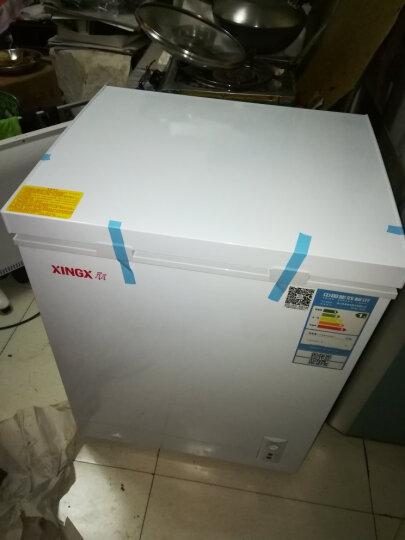 星星(XINGX) 107升 家用冷柜 微霜系统 欧式直角 冷藏冷冻转换冷柜 单温单箱冰箱 BD/BC-107JE 晒单图