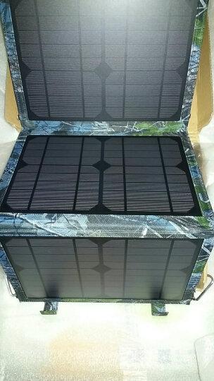 陆战旅 LS27 户外便携式太阳能充电宝 40W超大功率 折叠式充电器充电板移动电源快充 晒单图