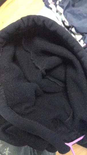 腴雅2017冬装连帽卫衣女宽松韩版潮学生长袖粉色套头加绒加厚外套秋冬 882粉色(薄款) L 晒单图