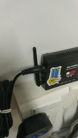 隆豹(LONGBAO) LU-1608n USB口多功能网络无线打印服务器扫描传真远程共享 晒单图