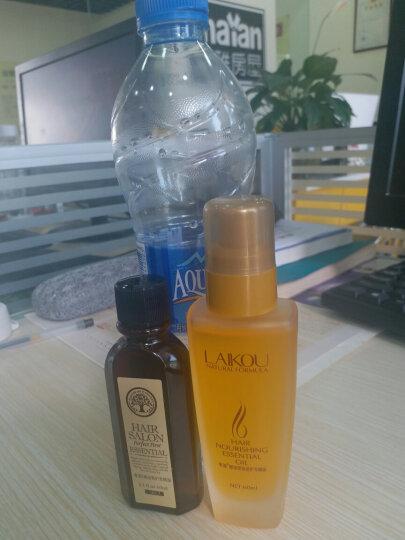 莱蔻 摩洛哥护发精油头发护理干枯毛躁卷发免洗护发弹力素 2款各1瓶 晒单图