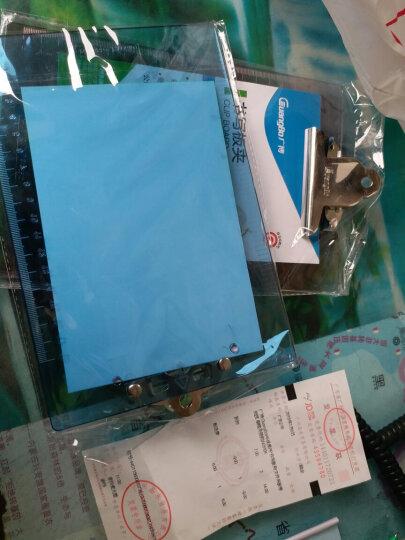 广博(GuangBo)A5优质PS书写板夹/文件夹板带刻度 蝴蝶夹颜色随机 单个装WJ6104 晒单图