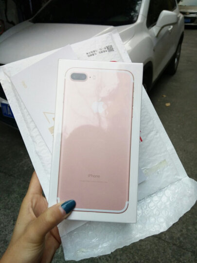 Apple iPhone 7 Plus (A1661) 256G 玫瑰金色 移动联通电信4G手机 晒单图