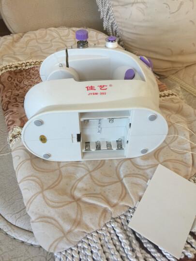 【赠缝纫10套配件礼包】芳华202缝纫机家用电动多功能迷你缝纫机 吃厚脚踏式缝纫机 晒单图