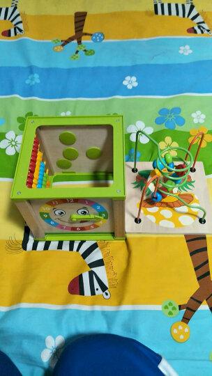 铭塔婴幼儿童绕珠串珠益智玩具箱 男女孩宝宝6-12个月木制 启蒙早教智力0-1-2-3周岁 晒单图