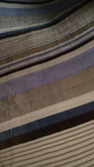 北极绒家纺 加厚法兰绒床垫床褥子防滑床护垫日式榻榻米床垫地铺学生床垫 加厚超柔剪花 酒红 180cm*200cm 晒单图