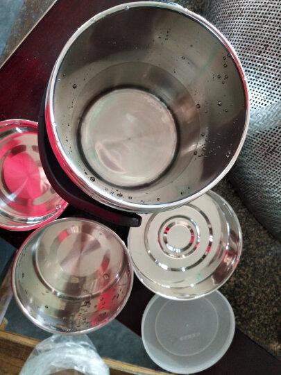 海科特 大容量304不锈钢内胆保温饭盒保温桶三层多层分格学生保温提锅 晒单图