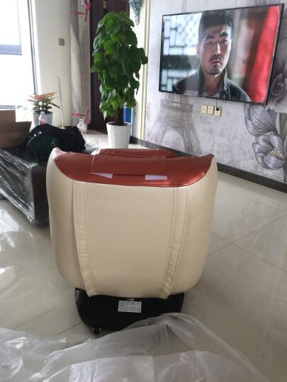 德国佳仁 3D机械手太空舱家用按摩椅 App蓝牙音乐 米红 晒单图