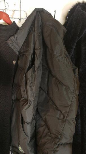 李宁 羽绒马甲韦德系列男子羽绒马甲运动服羽绒保暖AMRM007 -3银灰色 XXL/185 晒单图