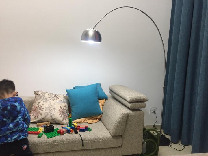 道远亮眼睛 美式LED落地灯 5W白光 客厅书房卧室床头落地台灯金属钓鱼麻将落地灯ML636 晒单图