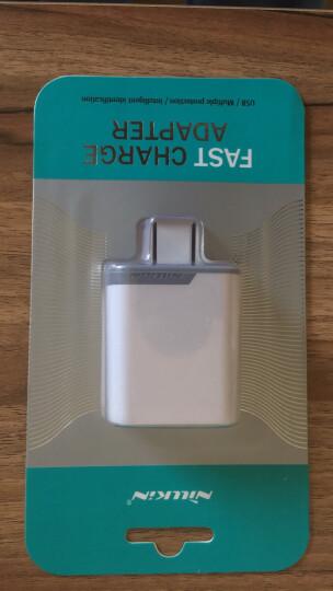 耐尔金 5V/9V/12V快充QC3.0 手机充电器/电源适配器/充电头通用苹果安卓手机 白色 晒单图