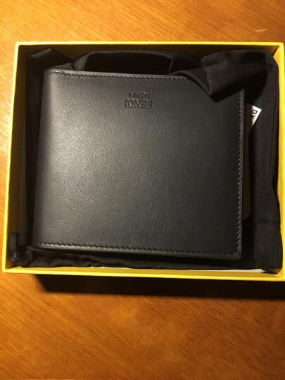 FENDI 芬迪 男士黑色牛皮短款钱包钱夹 7M0001 O74 F0GXN 晒单图