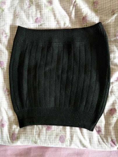曼迪卡威护腰带收腹带保暖护肚子护胃暖宫 黑色 晒单图