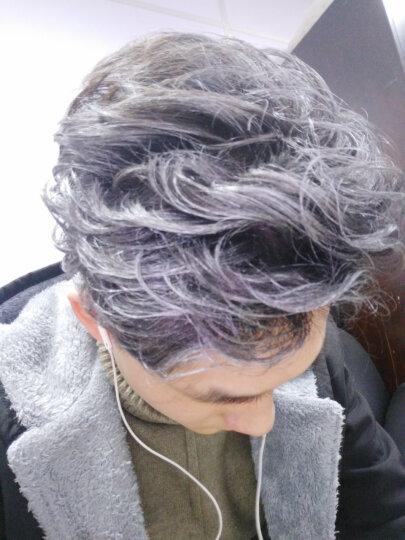 型邦 一次性染发喷雾染发剂奶奶灰染发膏彩色染色喷雾喷彩发胶彩喷不伤发125ML 银色(奶奶灰色) 晒单图