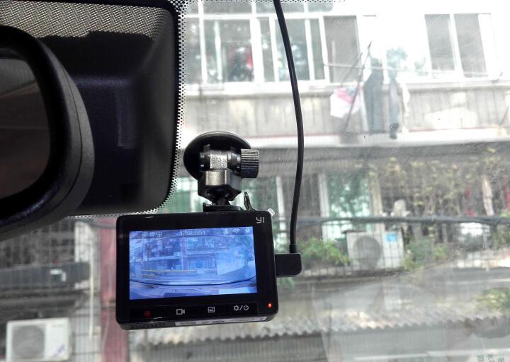 小蚁(YI)行车记录仪1296P超高清夜视 青春版 小米生态链公司  165°广角 智能辅助驾驶(太空灰) 晒单图