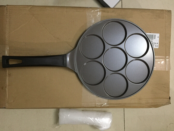 Neoflam 韩国新款创意陶瓷不粘煎锅 少油无油烟平底锅 26cm煎饼锅-燃气灶专用 晒单图