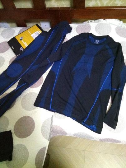 伯希和(Pelliot) 户外运动功能内衣男女压缩衣裤贴身内衣套装 黑色(男款) XL 晒单图