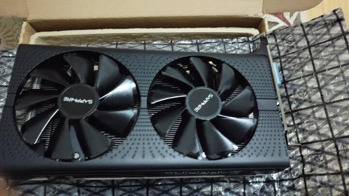 蓝宝石 Sapphire RX570 4G D5 白金版 OC 1284MHz/7000MHz 4G/256bit GDDR5 DX12 吃鸡显卡 晒单图
