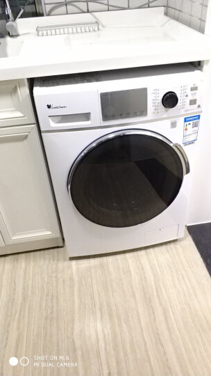 小天鹅(LittleSwan)8公斤智能洗烘一体变频滚筒洗衣机 京东微联智能APP控制 TD80-Mute60WDX 晒单图