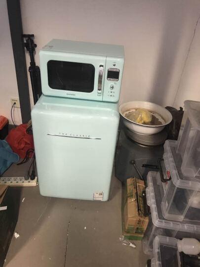 大宇(DAEWOO) 80L 复古迷你小型电冰箱单门家用冷藏保鲜智能 薄荷绿色80L ODF-M160M 晒单图