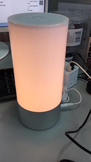 官方直营 Yeelight智能床头灯1600万色简约现代卧室灯LED台灯情景氛围小夜灯 晒单图
