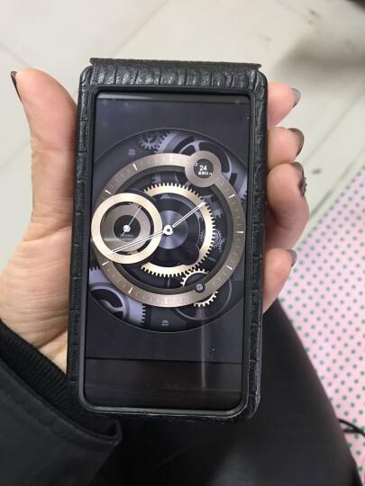 SZFY 手机套/保护套/手机壳可触屏开窗真皮皮套适用三星w2017w2016 【连体】w2016细鳄鱼纹黑色+送膜 晒单图
