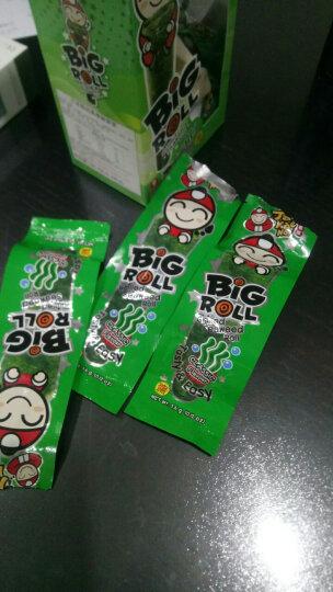 老板仔(Tao Kae Noi)海苔卷原味 烤制 泰国原装进口 脆紫菜 儿童休闲零食 独立包装3g*9条 晒单图
