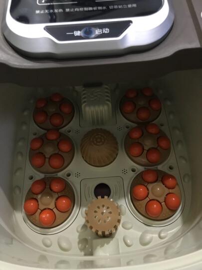 【国民品牌】南极人(NANJIREN) 全自动足浴盆电动深桶加热洗脚盆 自助按摩脚泡脚机器足疗盆 NJR818棕色电动版 晒单图
