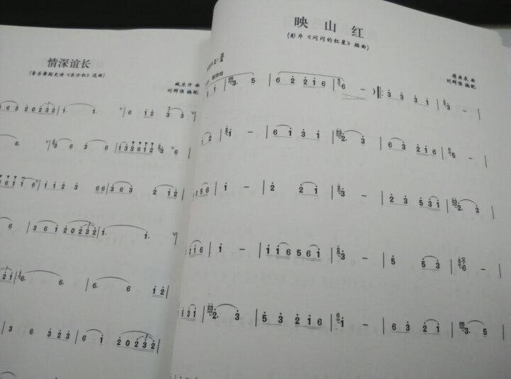 中国二胡考级曲集(演奏提示版 最新修订版 套装上下册) 晒单图