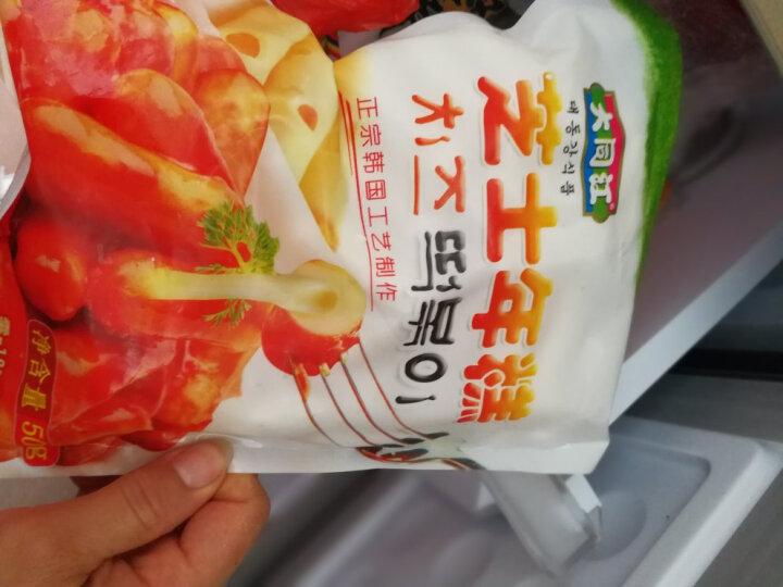 【旅顺馆】韩式料理原味芝士夹心年糕 500g 部队火锅食材  晒单图