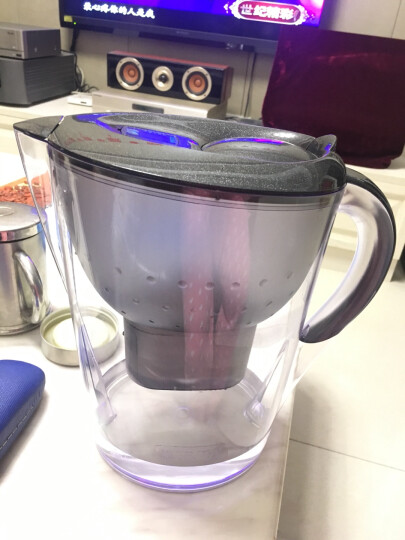 碧然德(BRITA)过滤净水器 家用滤水壶 净水壶 金典星光系列 Marella xl 3.5L(黑色) 晒单图