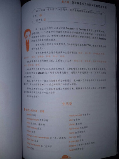 剑桥雅思听力考点词真经(机考笔试综合版) 晒单图