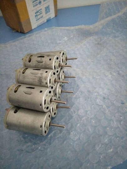 千水星 圆轴395电机 高速电机马达玩具配件 大扭力微型直流6v 模型DIY小手钻打磨器电机配件 晒单图