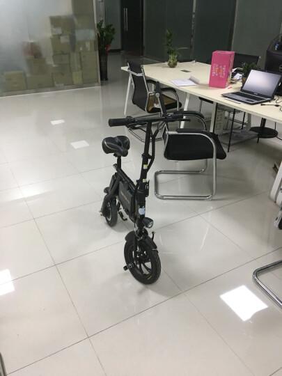 乐行天下(INMOTION)P2迷你电动自行车助力车可折叠单车成人代驾代步车  青春版25KM续航 晒单图