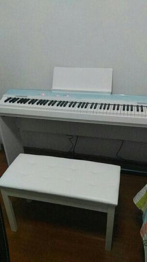 卡西欧(CASIO) 电钢琴88键重锤PX-160 智能数码电子钢琴成人专业初学者 黑色主机+X型琴架 晒单图