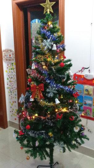 圣诞树套餐彩灯加密枝头 圣诞节装饰品挂件礼物套餐 圣诞装饰栅栏20片装(适合1.5米和1.8米树) 晒单图