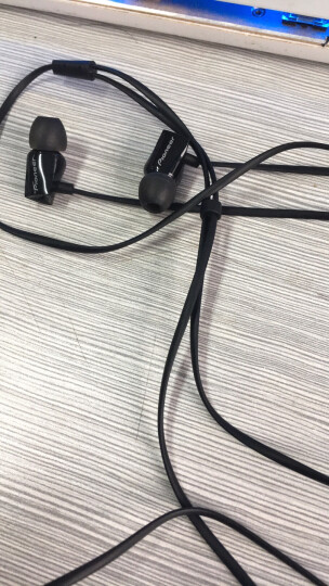 先锋(Pioneer)CL32S 入耳式HiFi耳机 三键线控 红 晒单图