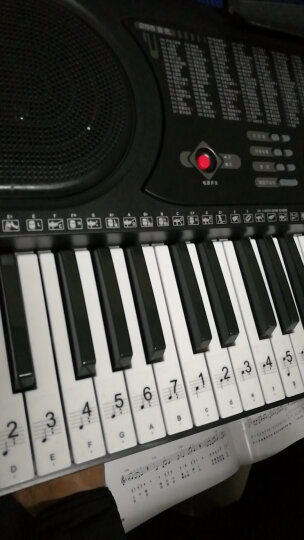 美科(MEIRKERGR)MK-975 61键钢琴键多功能智能电子琴儿童初学乐器 连接U盘手机pad 晒单图