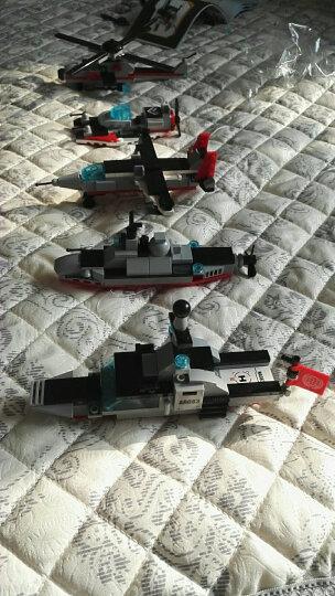 启蒙 积木玩具 8合1航母拼装玩具拼插兼容乐高军事警察儿童益智玩具男孩 8合1海洋巡洋舰送拆件器 晒单图