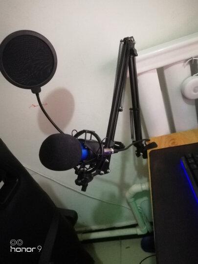 客所思 S10 外置声卡套装电脑网络K歌电音变声USB电容麦克手机唱吧 S10+PM80送耳机 晒单图