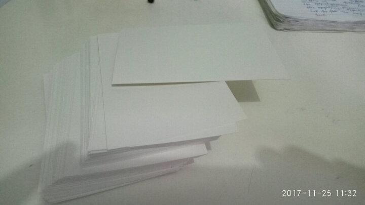 单词卡本名片卡空白卡片手绘卡片涂鸦卡片双面空白卡纸记事本 12*8cm100张 晒单图