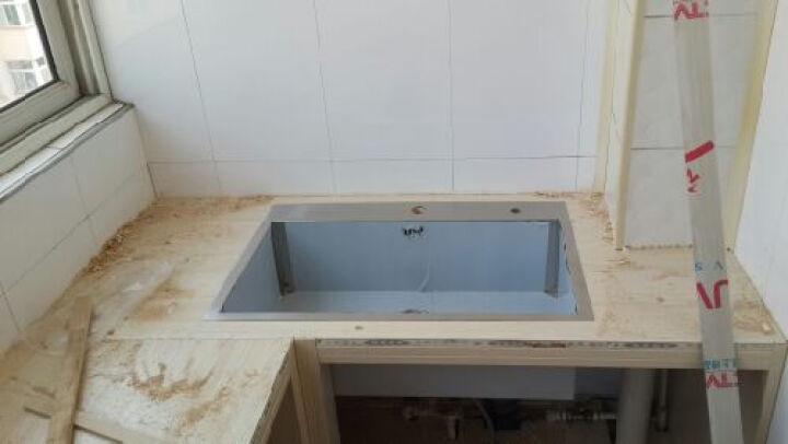 【下单立减400】水槽单槽304不锈钢洗菜盆H-A1003(72)-I 晒单图