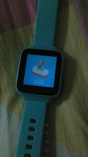小寻 儿童电话手表彩屏版  360度安全防丢生活防水GPS定位 学生定位手机智能手表手环 女孩 粉橙色 晒单图