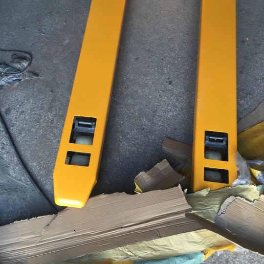 诺力(NOBLIFT)叉车2吨2.5吨3吨手动液压搬运车手动叉车托盘液压车地牛油压车 诺力整体泵AC3吨外宽685MM长1220MM 晒单图