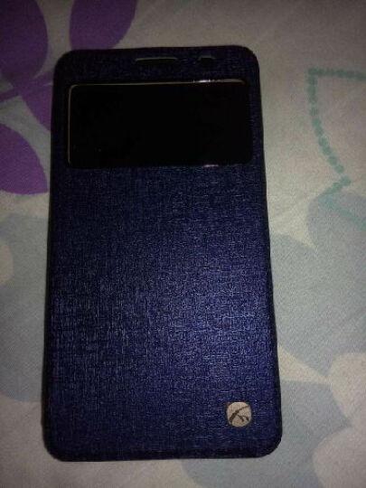 艾铭 华为荣耀3x视窗翻盖手机壳保护套 适用于华为荣耀3x畅玩版pro g750手机套 视窗触控-蓝色 晒单图