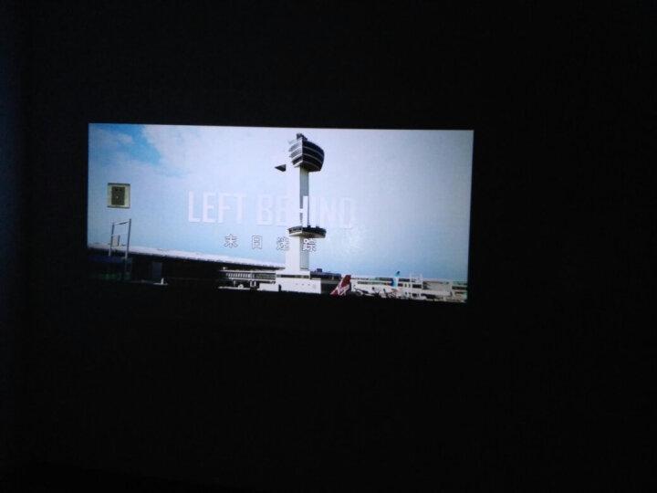 轰天炮 GP9投影仪led智能微型迷你投影机1080P无线手机wifi高清家用3D 黑色 套餐一【内置wifi版】 晒单图