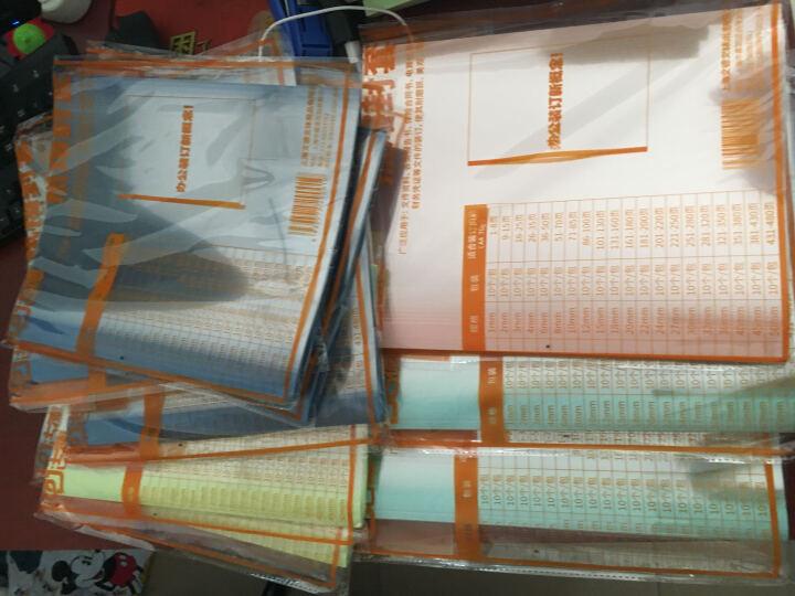 古德 A4热熔封套 装订机塑料封皮透明封面合同胶装纸质本装订档案文本封面1~15mm 15mm 粉红色 晒单图