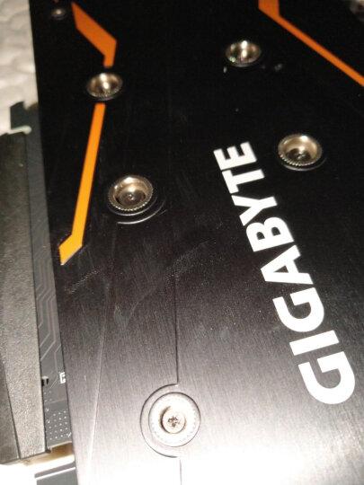 技嘉(GIGABYTE)GeForce GTX 1050Ti G1 GAMING 1366-1480MHz/7008MHz 4G/128bit游戏显卡 晒单图
