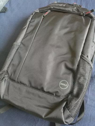 戴尔(DELL) 原装笔记本双肩包 14/15.6英寸笔记本游戏本电脑包旅行背包可选包鼠套装 新款双肩包+WM615折叠鼠标黑色 晒单图